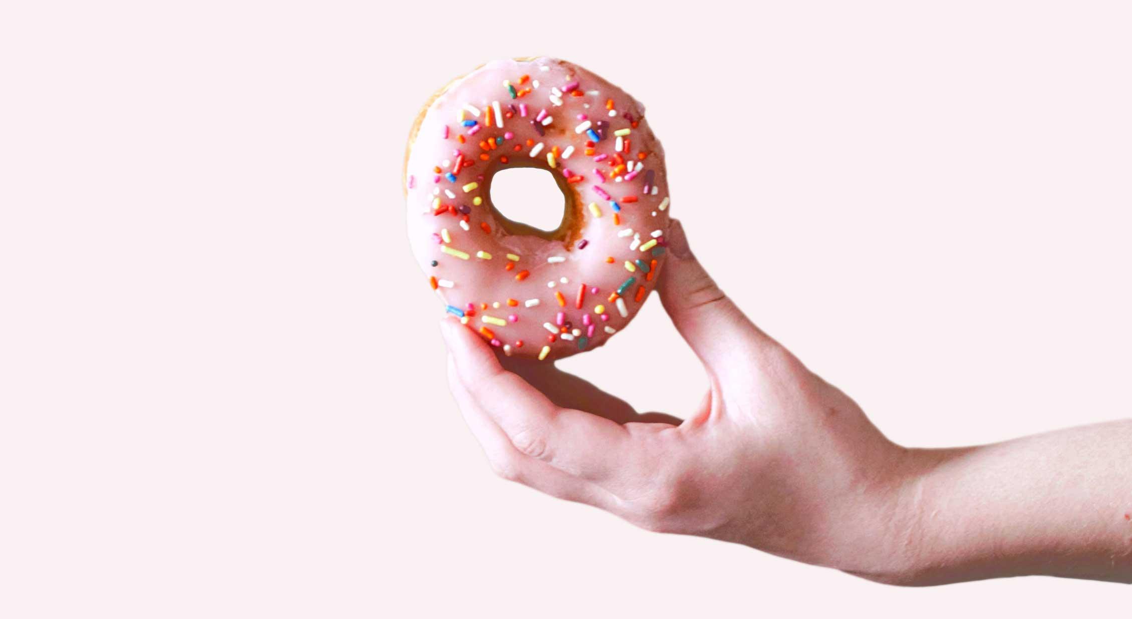 pink-glazed-donut